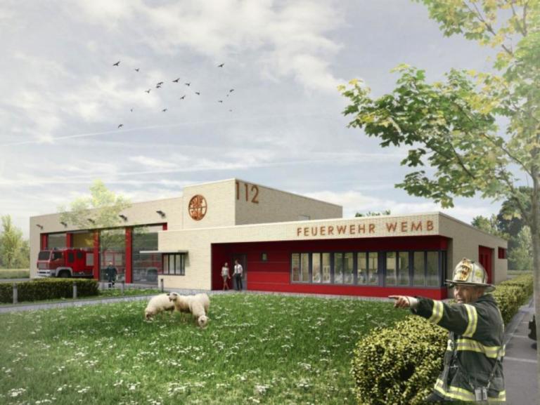 Neubau Feuerwehrwache Wemb