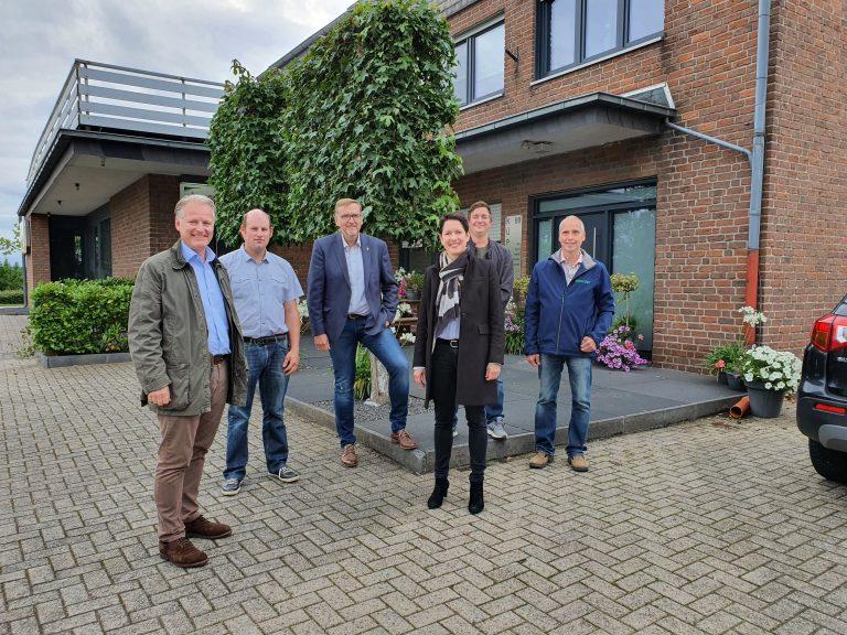 CDU Team trifft sich mit den Ortsbauern Weeze und Wemb