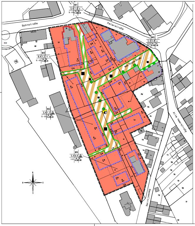 Das Baugebiet Petersstraße II entwickelt sich